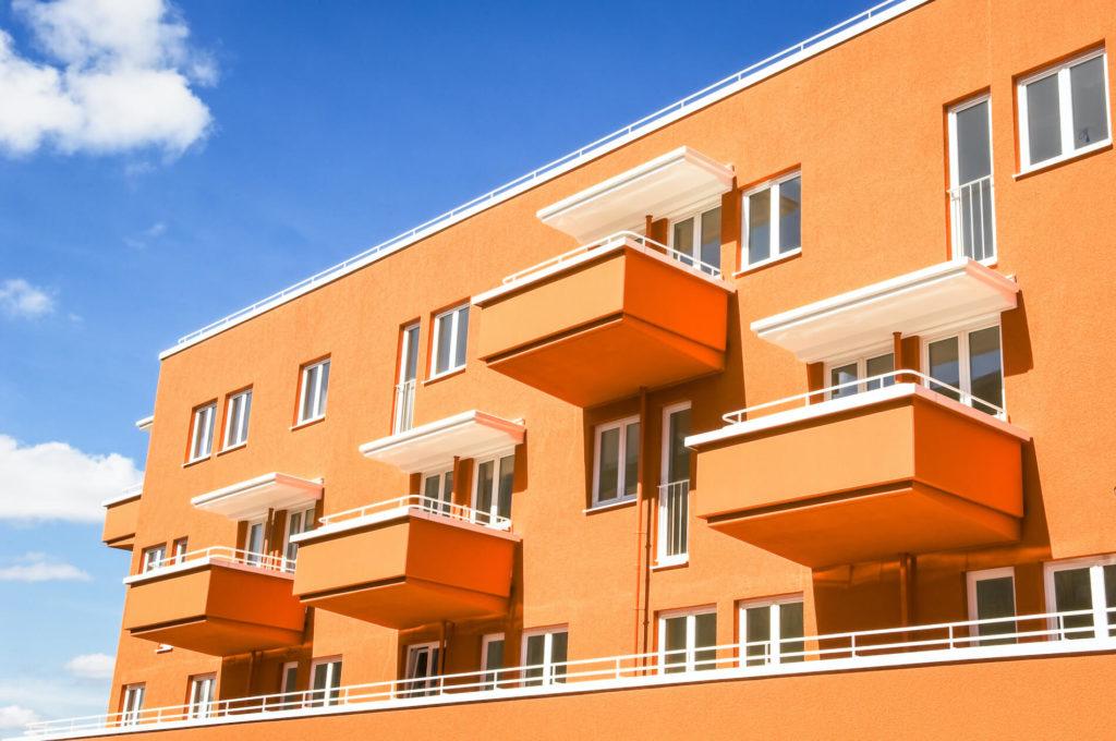 แบบบ้านโทนสีส้ม