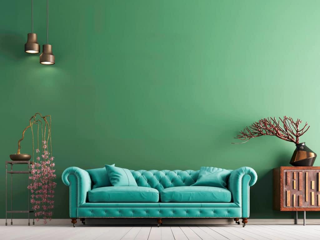 สีทาภายในบ้าน สีเขียวมินต์ (Mint Green)